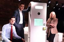 Contactless payment photobooth targets events with Deborah Meaden
