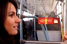 Global: Zeze Biscuits activates on Brazil buses