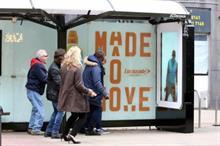 Event TV: Lucozade's get-fit bus shelter