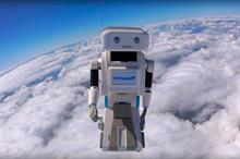 Event TV: Confused.com launches Brian the Robot into space