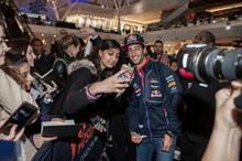 In pictures: Infiniti enlists Daniel Ricciardo for store launches