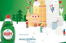 Fairy and Make A Wish partner for Christmas record attempt