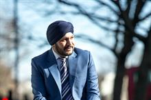 "Harmeek Singh: ""I see a lot of repetition in UK events"""