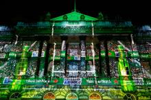 In pictures: Heineken transforms Somerset House into rugby stadium