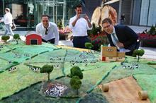 Event TV: Kerrygold creates giant 'Irish meadow' cake