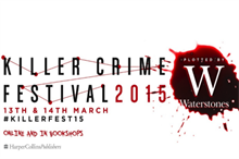 Waterstones and Harpercollins to create Killer Crime Festival