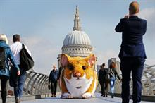 In pictures: Kwik Fit's giant hamster stunt