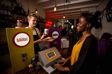 Marmite appeals to lovers and haters with 'pay-by-sentiment' café