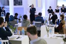 In pictures: Glacéau Smartwater opens solo dining pop-up