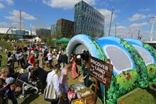Cow & Gate to create Super Yummies adventure zone at London festivals