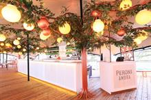 Inside Peroni's Italian-themed Somerset House takeover