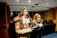 Event TV: Vue pranks cinema-goers with Poltergeist mirror