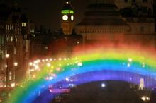 Event TV: Channel 4 creates 'night rainbow' for TV series launch