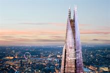 The View from the Shard to launch private event hire