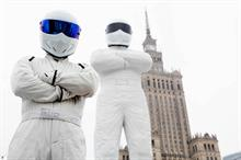 Event TV: Top Gear's Big Stig arrives in Poland