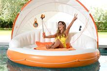The ultimate inflatable: Bluetooth speakers, wi-fi hotspot and a selfie stick