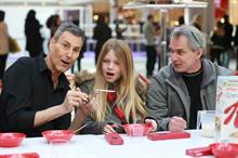 In pictures: Uri Geller bends one millionth spoon with Kellogg's