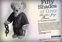 The Fifty Shades of Grey teddy bear and more useless movie tie-ins