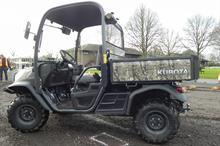Kubota launches RTV-X900 utility vehicle