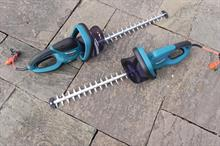 Makita UH5570 & Makita UH6580 electric hedgetrimmers