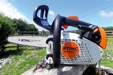 STIHL MS 150 T-CE arborist chainsaw