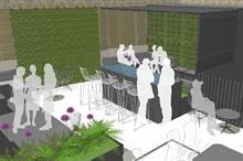 Aralia commissioned for upmarket restaurant roof garden
