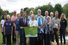 Volunteer who made 'outstanding contribution' to park scoops Green Flag Award