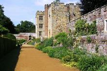 Revival of blue and yellow border at Penshurst Place