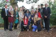 Capel Manor staff and students collaborate on park wildlife garden