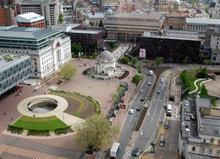 Birmingham Centenary Square design options on show