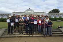 Chiswick House and Gardens team wins London in Bloom award