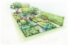Marcus Barnett designs De Stijl inspired Telegraph garden for Chelsea