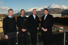 Brexit minister visits Scottish sawmill and discusses issues affecting forestry sector