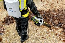 Blowers, Vacs and Sweepers: handheld and backpack machines