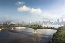 Garden Bridge Trust reveals names of firms shortlisted to build bridge
