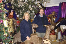 Bents and Castle Gardens take Garden Centre Association Christmas display prizes