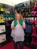 Charlie Dimmock supports Garden Re-Leaf fundraiser
