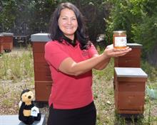 Stewarts sells own honey
