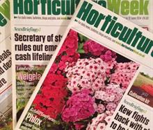 Horticulture Week's Matthew Appleby wins News Story of the Year Award at Garden Media Guild event