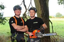 College course gives former supermarket workers new career in arb