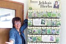 Grower singles out best herbs for garden centres
