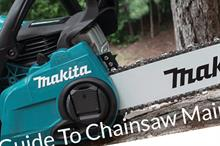Free chainsaw maintenance guide published