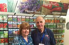Falkland Island garden centre owners travel to Birmingham to buy
