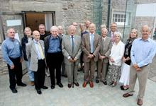 Founders of National Botanic Garden of Wales attend 25th anniversary gathering