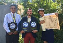 Paul Hervey-Brookes wins at Gardening World Cup, Japan