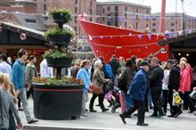 Plantscape creates floral welcome for Three Queens
