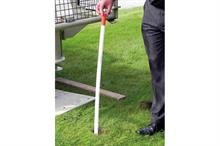 Vertical turf drainage systems
