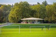 Royal Parks rolls out UK's first hybrid soccer pitch