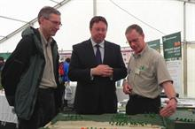 Forestry minister hears growers' concerns at APF show