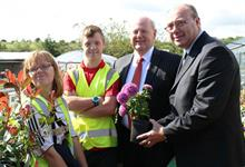 MP praises County Durham horticultural social enterprise project